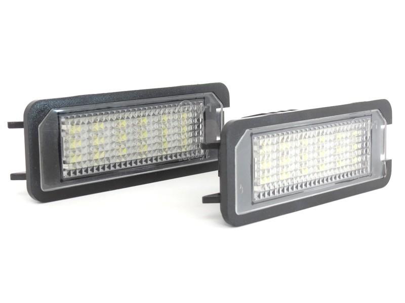 LED плафони за регистрационен номер за Volkswagen EOS, Golf IV, Golf V, Lupo, New Bittle, Polo ...